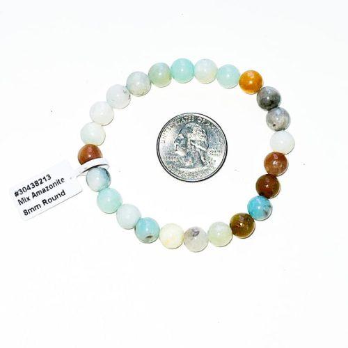 Amazonite Bracelet 8 mm Mixed