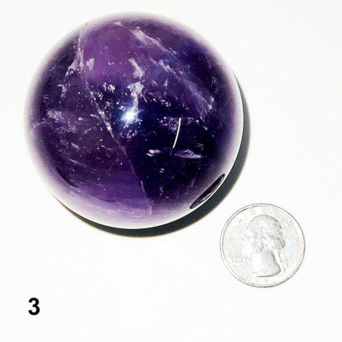 Amethyst Sphere #3