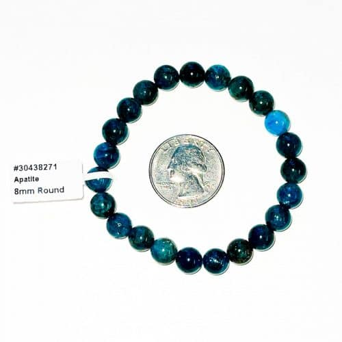 Apatite 8 mm Bracelet