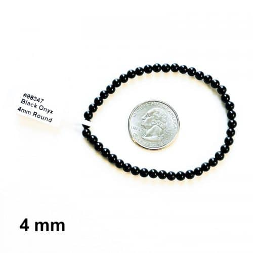 Black Onyx Bracelet 4mm