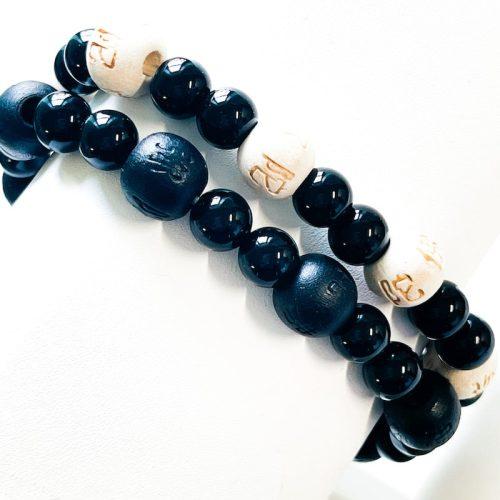Black Onyx Lucky Karma Bracelet Cover Photo