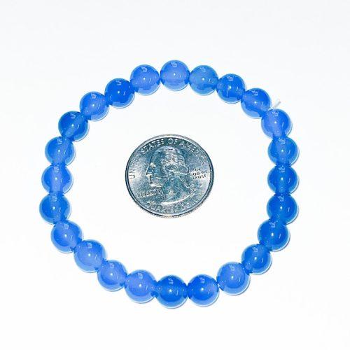 Blue Onyx 8mm Bracelet