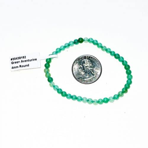 Green Aventurine Bracelet 4 mm