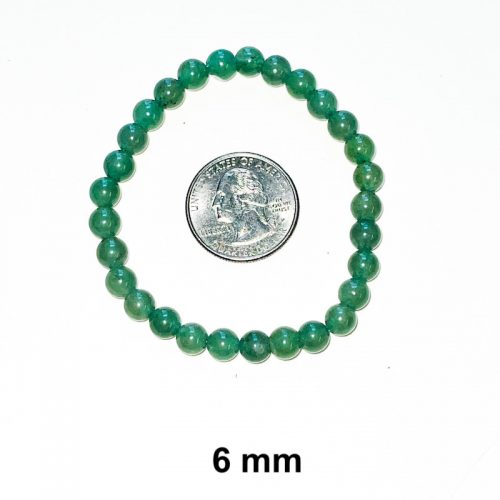Green Aventurine Bracelet 6 mm