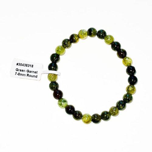 Green Garnet 7 mm Bracelet
