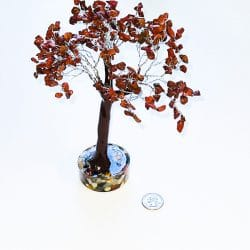 Red Jasper Tree with Orgonite Base