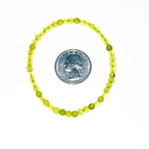 Lemon Serpentine Bracelet 4 mm