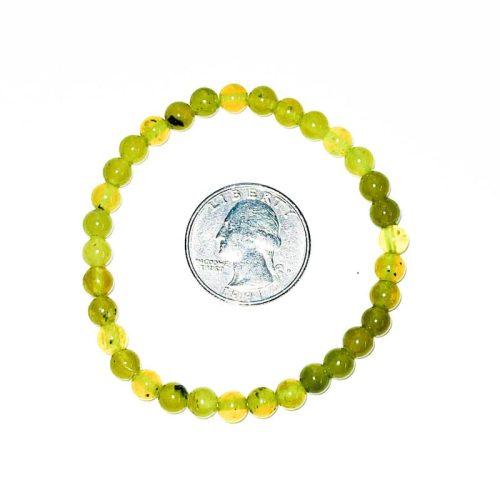 Lemon Serpentine Bracelet 7 mm