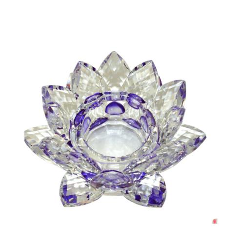 Purple Lotus Tealight Holder