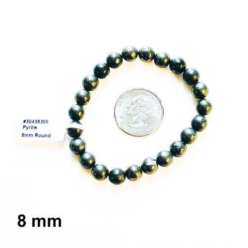 Pyrite Bracelet 8 mm