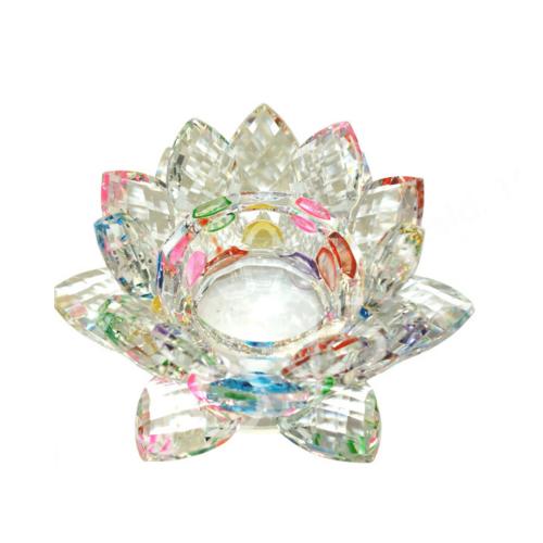 Rainbow Lotus Tealight Holder