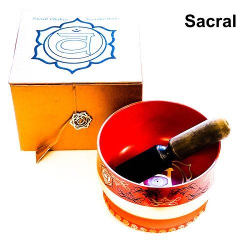 Tibetan Singing Bowl Gold Bottom - Sacral Chakra 2