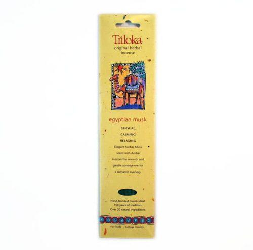 Triloka Egyptian Musk Incense