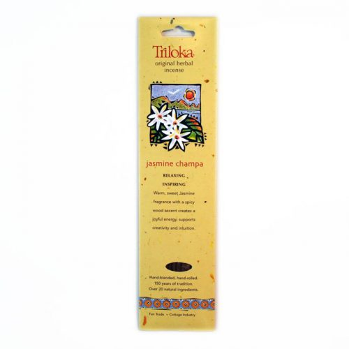 Triloka Jasmine Champa Incense