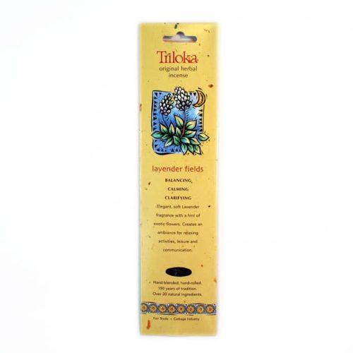 Triloka Lavender Fields Incense