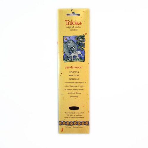 Triloka Sandalwood Incense