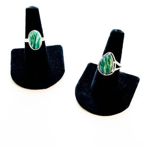 Amazonite Ring Size 8 Cover Photo