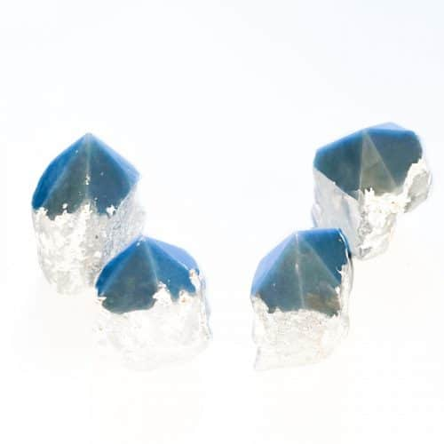 Angelite Semi Polished Standing Point