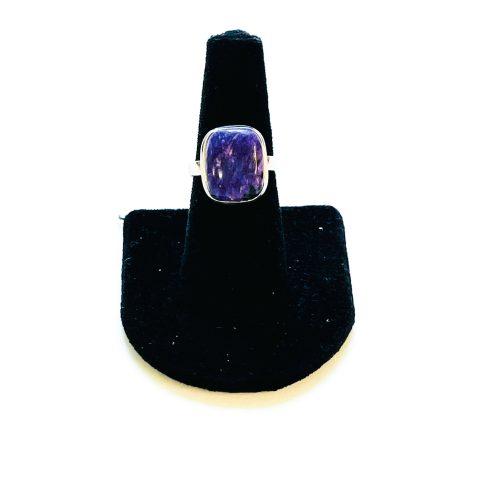 Charoite Ring Size 8 2