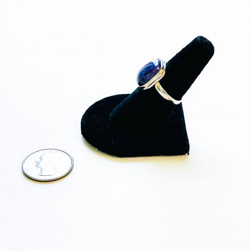Charoite Ring Size 8