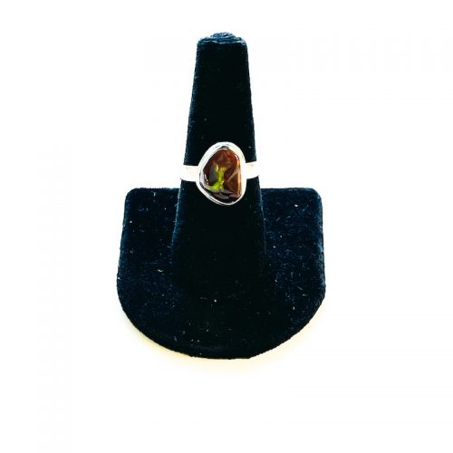 Fire Agate Ring Size 8