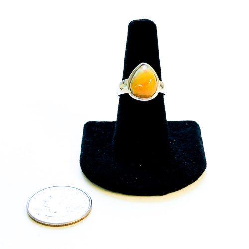 Fire Opal Ring Size 8