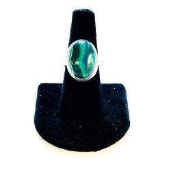 Malachite Ring Size 8