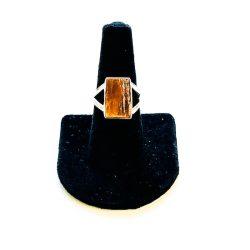 Orange Kyanite Ring Size 8