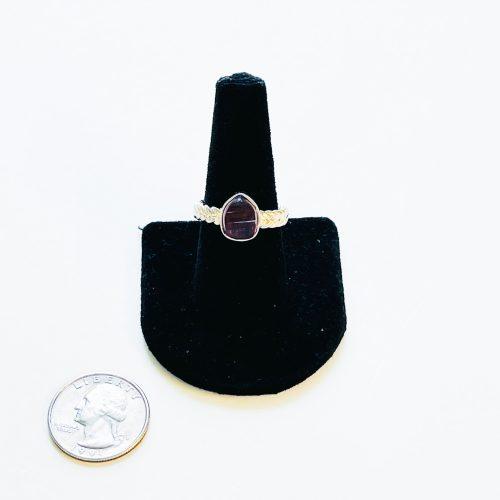 Pink Tourmaline Ring Size 8.5
