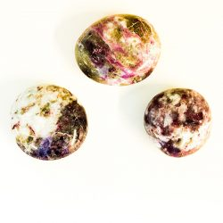 Rubellite Palm Stones