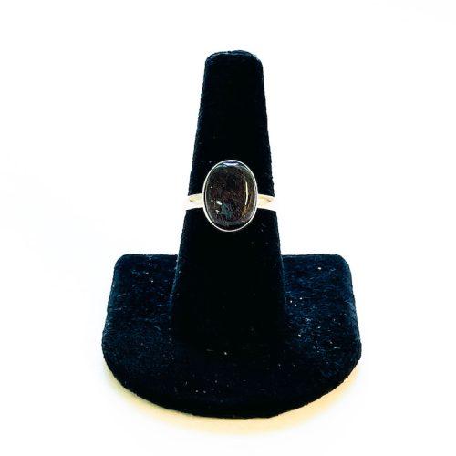 Tourmalinated Quartz Ring Size 8