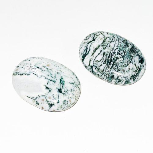 ree Agate Palm Stone