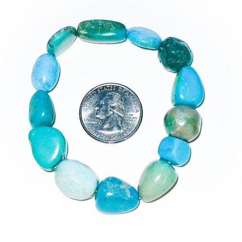 Turquoise Bracelet larger nuggets