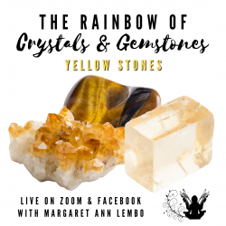 The Rainbow of Crystals and Gemstones - Yellow Stones