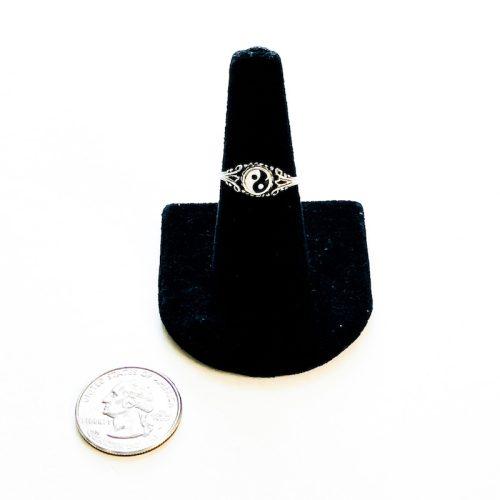 Yin Yang Ring Size 8