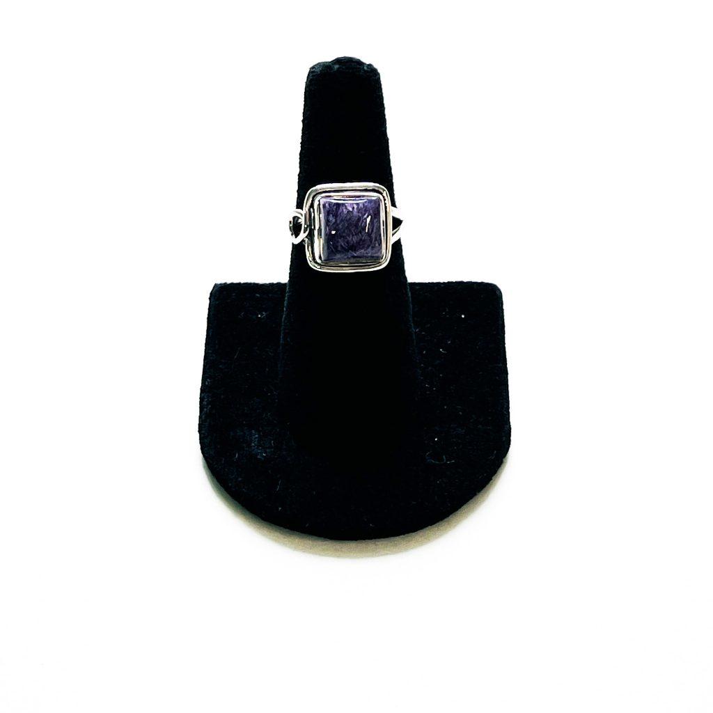 Charoite Ring – Size 6