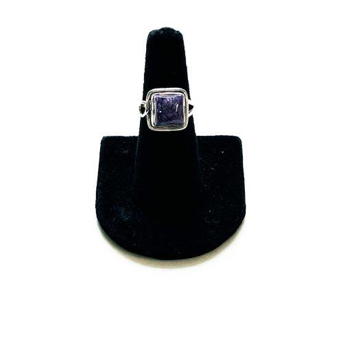 Charoite Ring Size 6