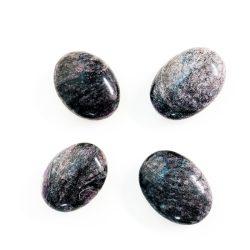 Garnet in Astrophyllite Palm Stones