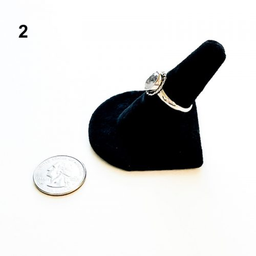Herkimer Diamond Ring Size 8