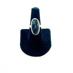 Indigo Gabbro Ring Size 8