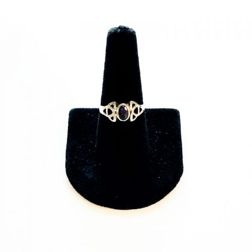 Iolite Celtic Knot Ring Size 8