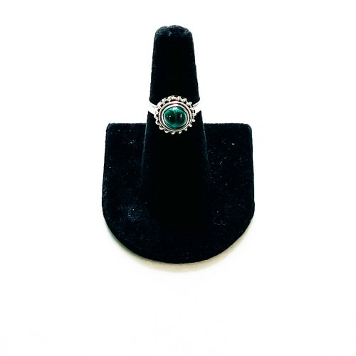 Malachite Ring Size 6