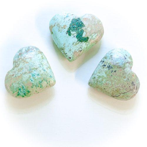 Peruvian Turquoise Heart
