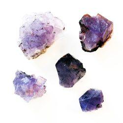 Purple Fluorite Cluster Cover Photo