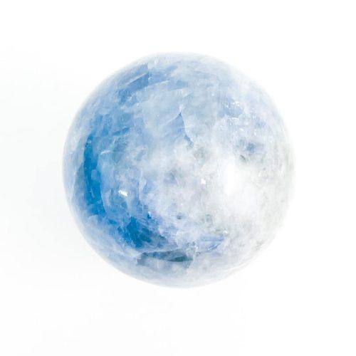 Blue Calcite Sphere