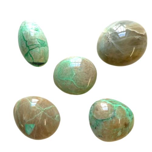 Garnierite Green Moonstone