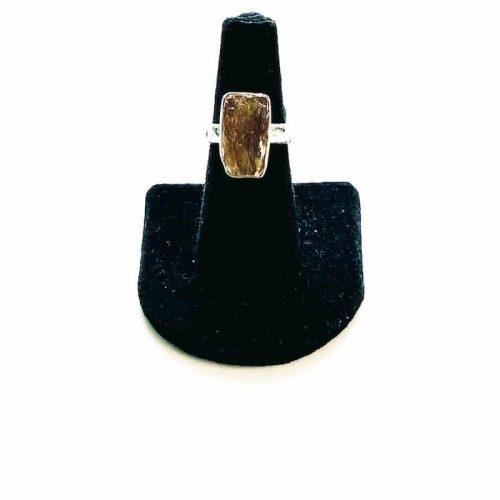 Orange Kyanite Ring Size 6