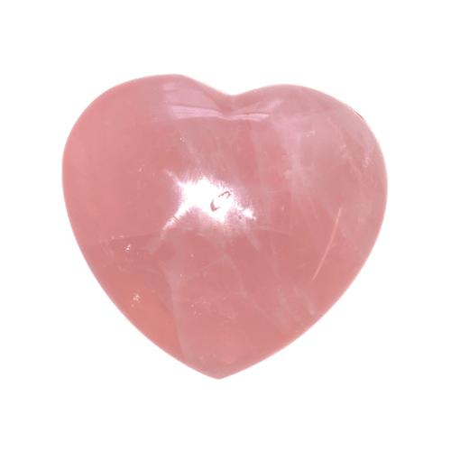 Rose Quartz Heart Large puffy