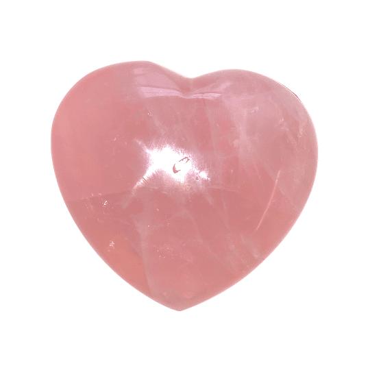 Rose Quartz Heart Large