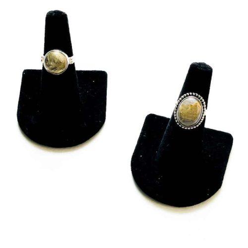 Rutilated Quartz Ring Size 6 Cover Photo